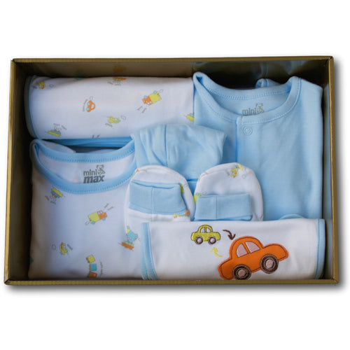 Cars 6 Piece Baby Gift Set - A Little Kiddie