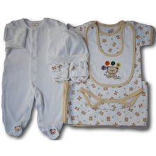 Huggy Bear 6 Piece Baby Gift Set - A Little Kiddie