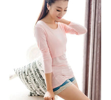 Sweet Milk Long Sleeves Maternity Tee Top