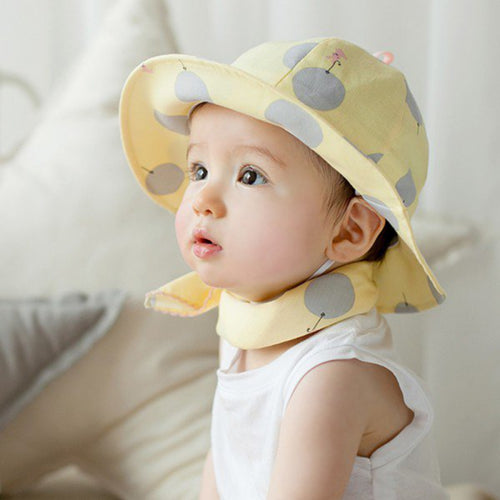 Balloon and Rabbit Baby Sun Hat - A Little Kiddie