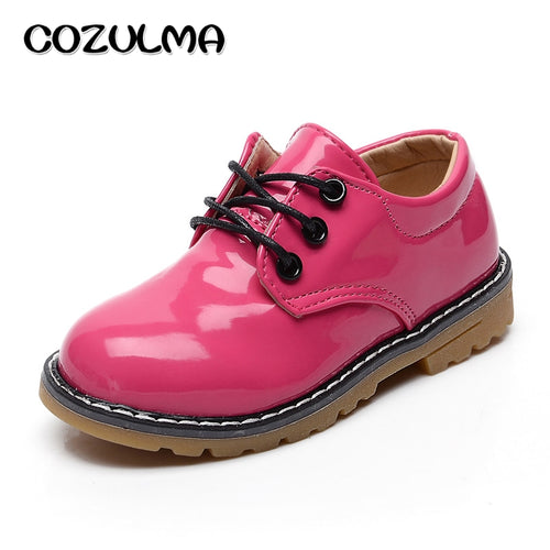 Candy Pu Leather Shoes