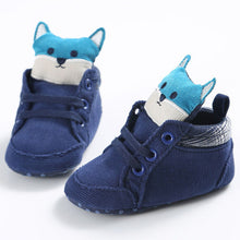 Baby Fox High First Walker Anti-Slip Soft Sole Shoes