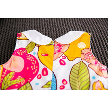 Colourful Pomegranate Dress For 3 - 7Y