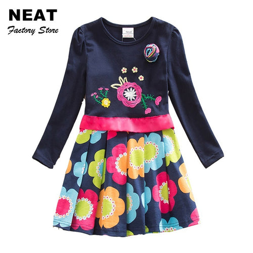 Super Cute Winter Dress - A Little Kiddie