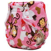 Animals Organic Baby Reusable Nappy Cover For 0-3months
