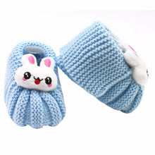 Newborn Bunny Knit Booties