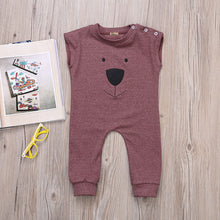 Little Bear Sleeveless Romper For 6-24 M - A Little Kiddie