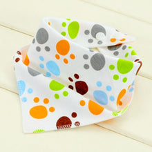 Sweet Triangle Cotton Bibs