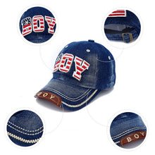 Boy Baseball Cap - A Little Kiddie