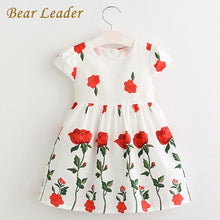 Red Roses Dress - A Little Kiddie
