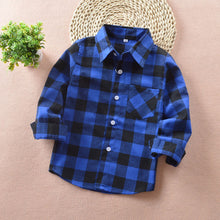 Kindstraum Plaid Long Sleeves Shirt - A Little Kiddie