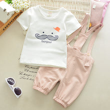 2 PCS Bonjour Overall Baby Set - A Little Kiddie