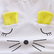 2 Pcs Sleeping Mouse Set With Short Sleeves Tee + Pants For 6 - 24 M