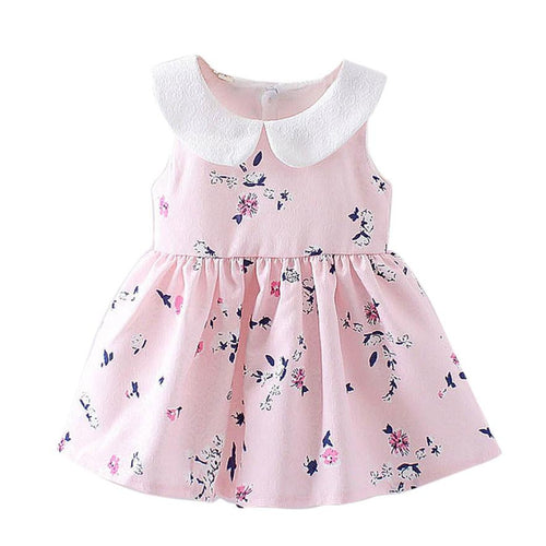 Butterfly and Flower Baby Party Dress