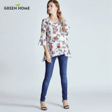 Chiffon Floral Maternity Top - A Little Kiddie
