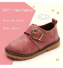 British Style Kids Shoes