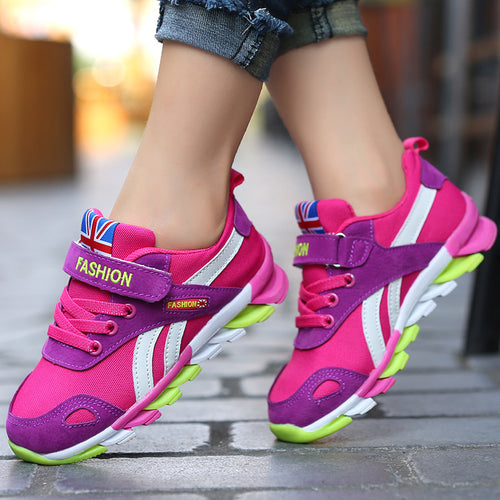Colourful Fashion Trainers - A Little Kiddie