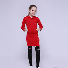 Kangaroo Pocket Hoodie Dress