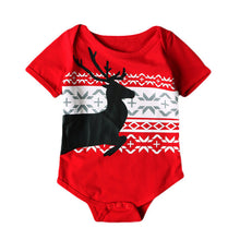 Deer and Christmas Baby Bodysuit - A Little Kiddie