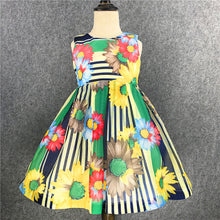 Bohemian Flowers Dress - A Little Kiddie