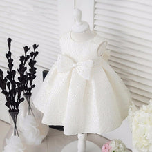 Big Bow Lace Party Dress - A Little Kiddie