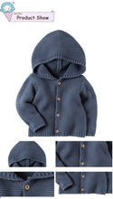 Super Soft Knitted Hoodie For 9M - 3Y - A Little Kiddie