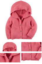 Super Soft Knitted Hoodie For 9M - 3Y