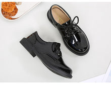 ULKNN Boys Patent Leather Shoes - A Little Kiddie