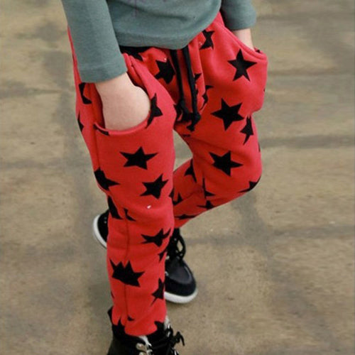 Stars Pants For Boys 2 - 6 Y