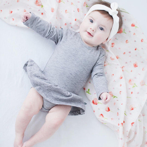 Baby Girl Skirt Playsuit For 0 to 24M
