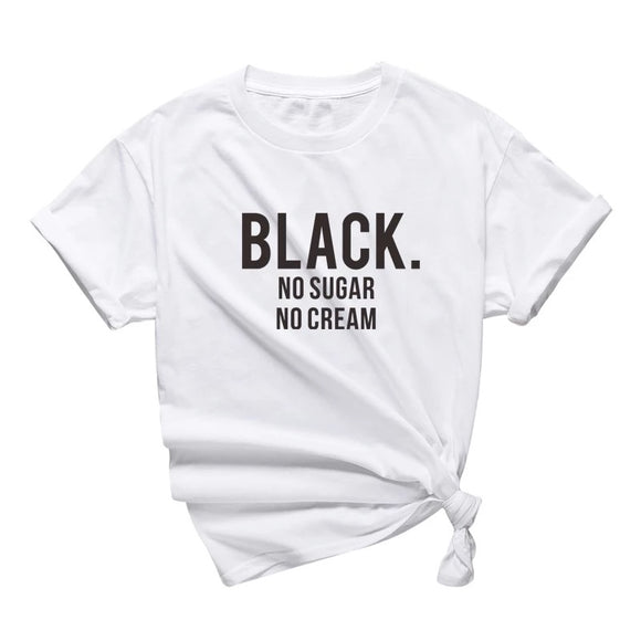 BLACK: No Sugar No Cream