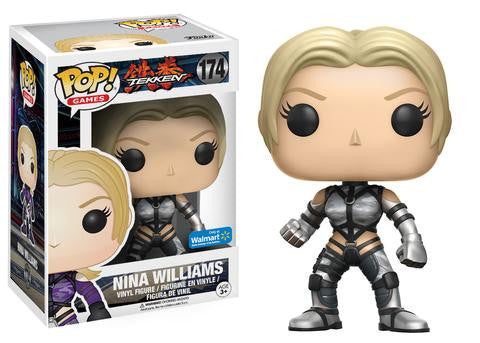 Funko POP! Games Nina Williams Vinyl Figure (Walmart Exclusive) NEW