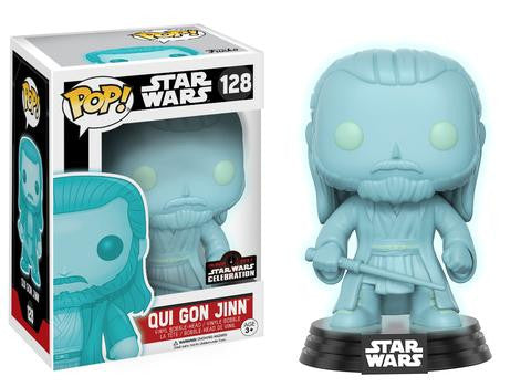Funko POP! Star Wars Qui Gon Jinn Vinyl Figure (Star Wars Celebration) NEW