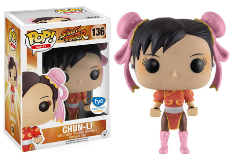 Funko POP! Games Chun-Li Vinyl Figure (FYE Exclusive) NEW