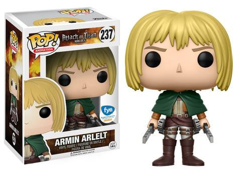 Funko POP! Animation Armin Arlelt Vinyl Figure (FYE) NEW