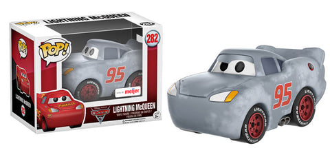 Funko POP! Disney Lightning McQueen (Gray) Vinyl Figure (Meijer Exclusive) NEW -  - The Pop Dungeon - The Pop Dungeon