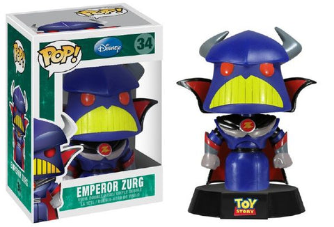 Funko POP! Disney Emperor Zurg (Non-Bobble) Vinyl Figure (VAULTED) NEW