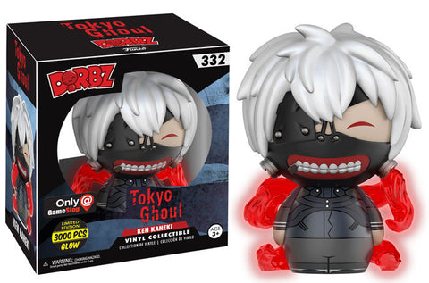 Dorbz Ken Kaneki (Glow) Tokyo Ghoul (GameStop Exclusive) Vinyl Figure NEW -  - The Pop Dungeon - The Pop Dungeon