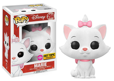 Funko POP! Disney Marie (Flocked) Vinyl Figure (Hot Topic Exclusive) NEW -  - The Pop Dungeon - The Pop Dungeon