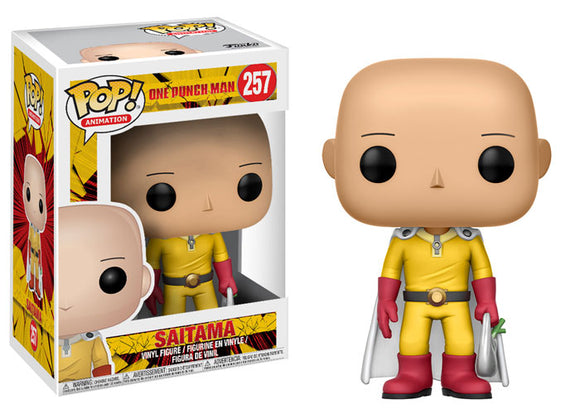 Funko POP! Animation Saitama Vinyl Figure (VAULTED) NEW -  - Funko - The Pop Dungeon