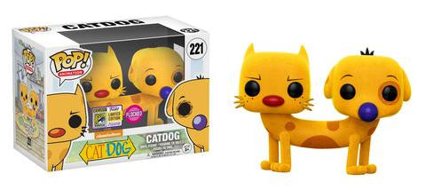 Funko POP! Animation Catdog (Flocked) Vinyl Figure (Convention Exclusive) NEW