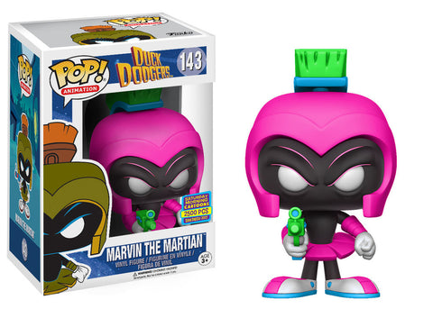 Funko POP! Animation Marvin the Martian (Magenta) Vinyl Figure (Pop Up Shop) NEW