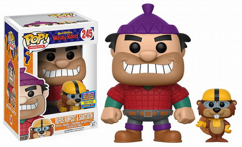 Funko POP! Animation Rufus Ruffcut & Sawtooth Vinyl Figure (Pop Up Shop) NEW
