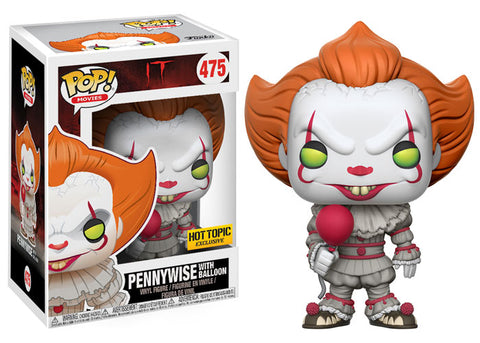 Funko POP! Movies Pennywise (Hot Topic) Vinyl Figure NEW