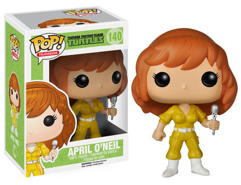 Funko POP! Television April O'Neil Vinyl Figure (VAULTED) NEW -  - The Pop Dungeon - The Pop Dungeon