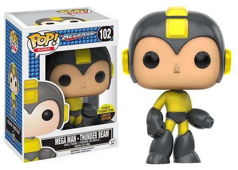 Funko POP! Games Mega Man (Thunder Beam) Vinyl Figure (Toy Tokyo Exclusive) NYCC -  - The Pop Dungeon - The Pop Dungeon