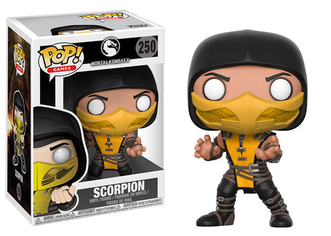 Funko POP! Games Scorpion Vinyl Figure NEW