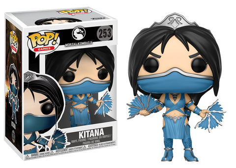 Funko POP! Games Kitana Vinyl Figure NEW
