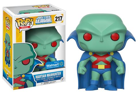 Funko POP! Heroes Martian Manhunter (Animated) Vinyl Figure (Walmart) NEW