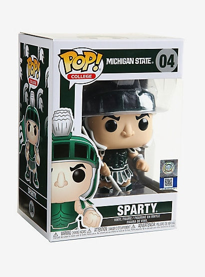 Funko POP! College Michigan State Sparty Vinyl Figure NEW